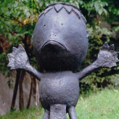 Kappa statue around the area