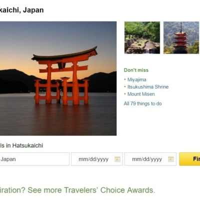 Trip Advisor Top 10 Japan Destinations Hatsukaichi