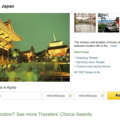 Trip Advisor Top 10 Japan Destinations Kyoto