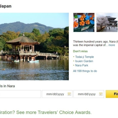 Trip Advisor Top 10 Japan Destinations Nara