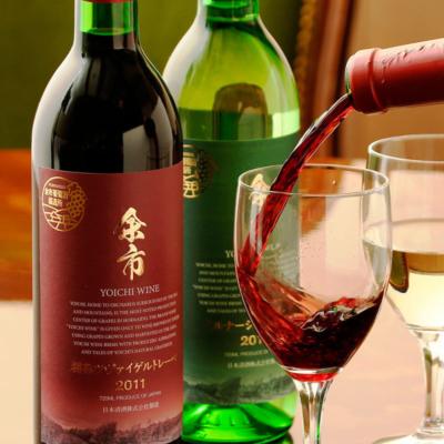 Yoichi Wine Glasses Mid Pour