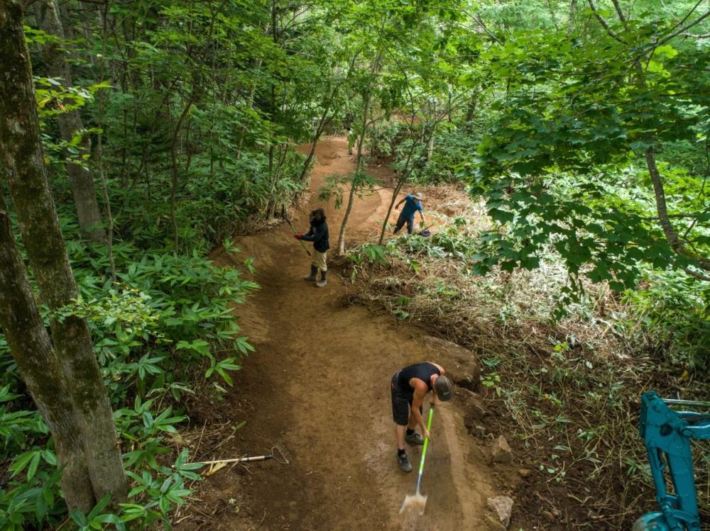 ginto village trail がオープンしました エクスペリエンスニセコ