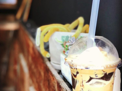 Sprout Summer Coffee Jelly Smoothie