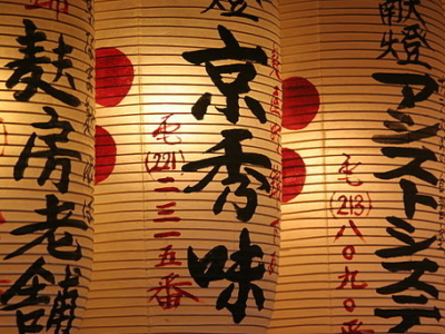 Japanese lanterns, a perfect souvenir