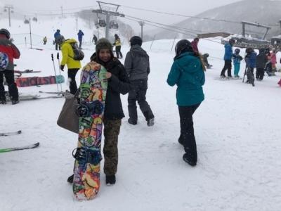 Sabrina Snowboard
