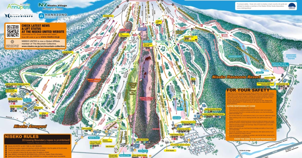 Your Complete Guide To Niseko Japan Experience Niseko - Japan map 2017