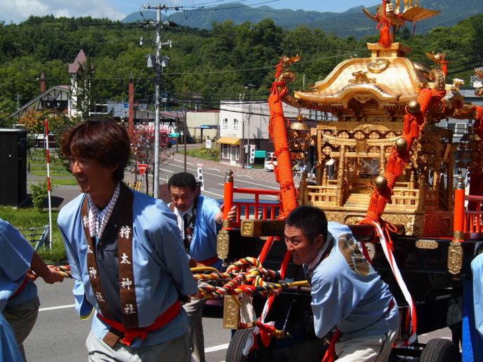 Niseko Town Kaributo Jinja Matsuri Shrine Festival 7