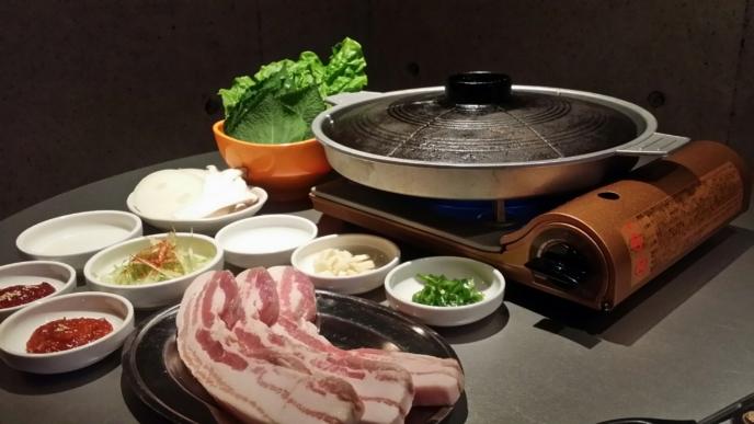 Tomonepocha Kutchan Korean Restaurant Bbq Layout