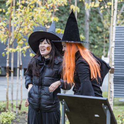 Witches At Halloween Event 2016