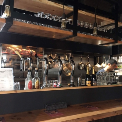 Niseko Taproom With Japanese Chef Behind The Bar